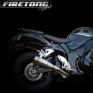 Escapamento Suzuki Hayabusa 1999-2017 Flame Full