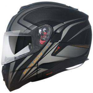 CAPACETE MT ATOM SX1 MATT BLACK GOLD